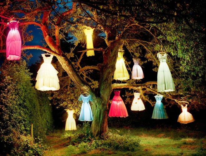 Фотограф Тим Уолкер, платья фонарики