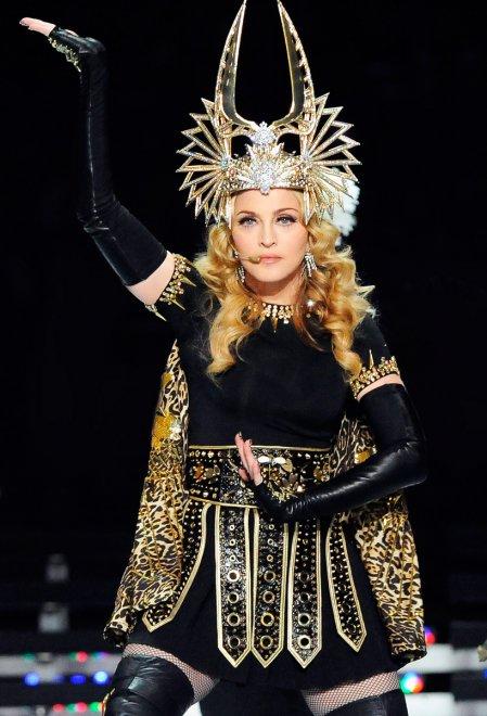 Мадонна, фотография Тима Уолкера