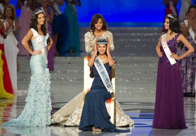 Мисс мира 2012 китаянка Yu Wenxia