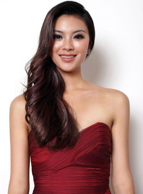 Ю Венься Yu Wenxia, корона Мисс мира 2012