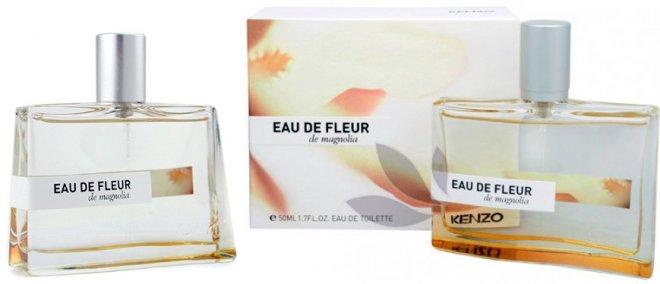 магнолия в парфюмерии Kenzo Eau De Fleur de Magnolia