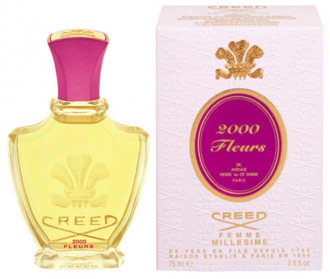 Селективная парфюмерия с ароматом цветов магнолии Creed 2000 Fleurs