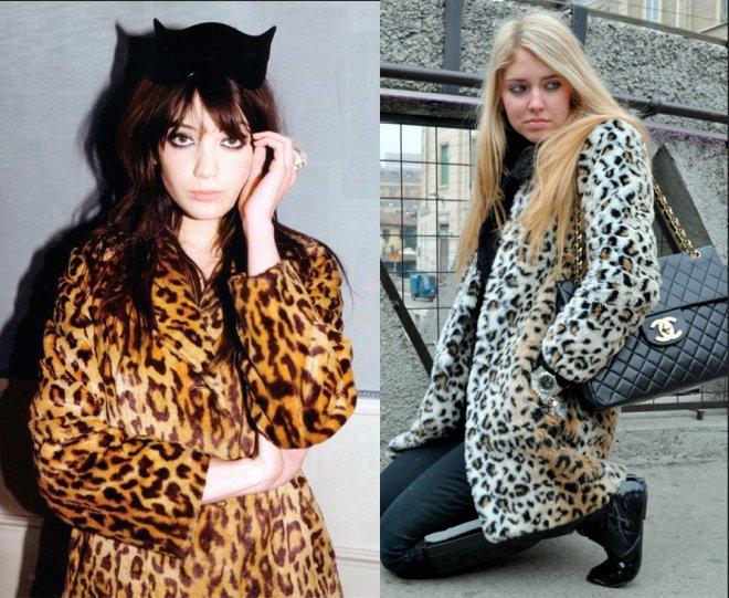 Звериный и леопардовый принт в одежде