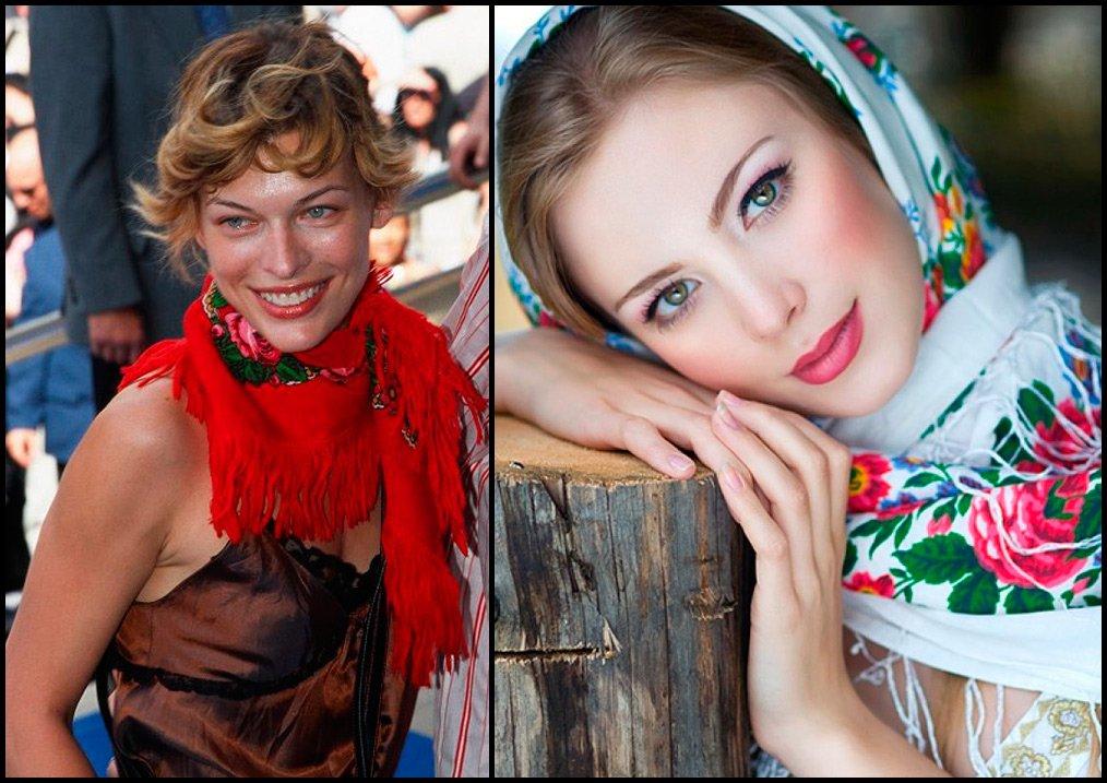 фото простых русских девушек