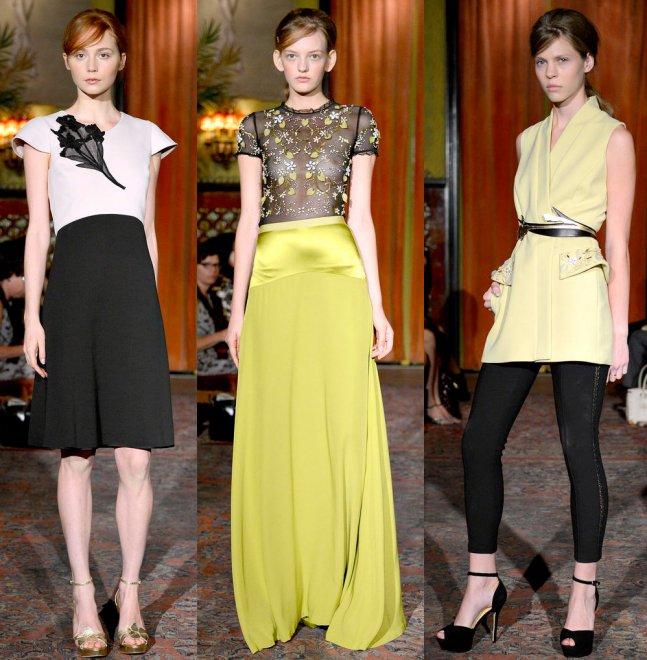 Behnaz Sarafpour весна-лето 2013 (New York fashion week)