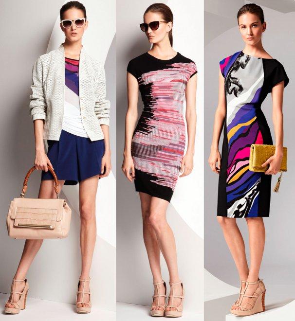 Одежда и аксессуары весна-лето 2013 от модного бренда Escada