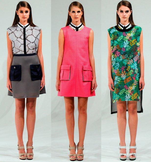 Женская одежда от Ostwald Helgason весна-лето 2013