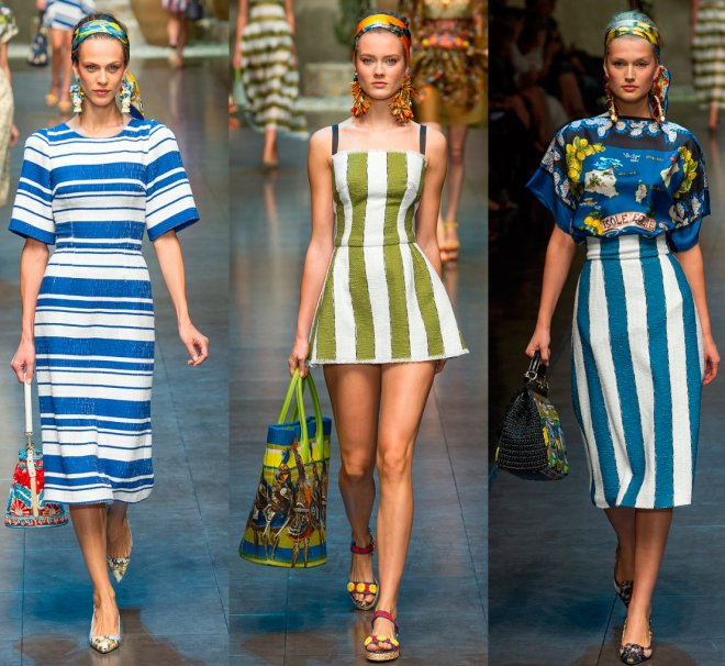 Коллекция весна-лето 2013 от бренда Dolce & Gabbana