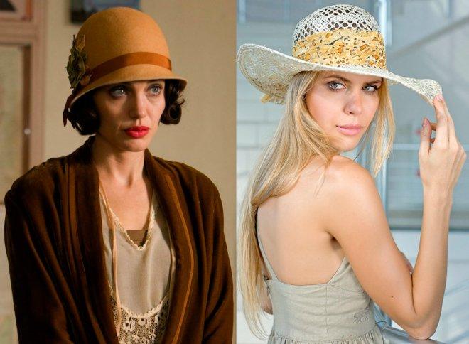 женская шляпа колокол или клош