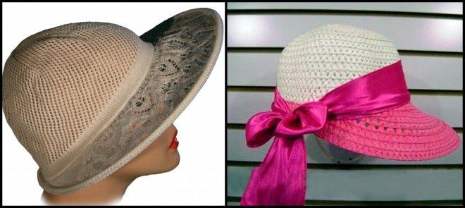 женская шляпа капор