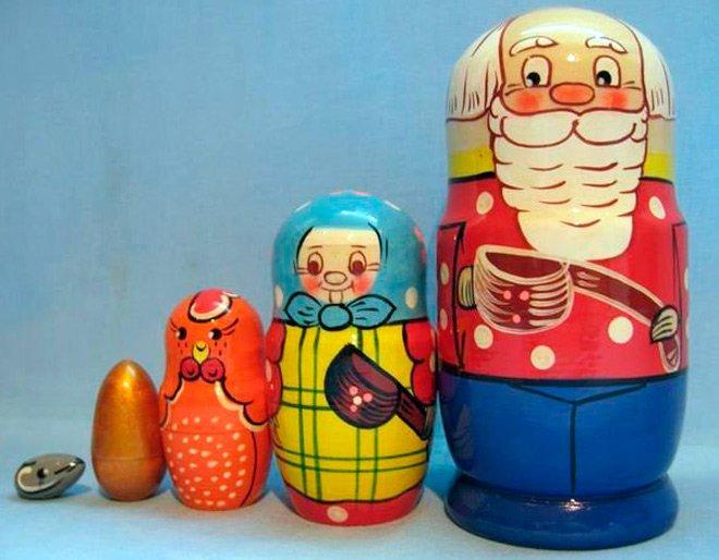 Русские матрешки, история создания деревянных куколок