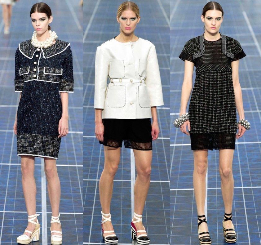 210096dac20f Chanel весна-лето 2013, коллекция Карла Лагерфельда