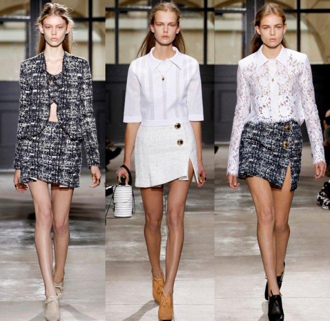 Balenciaga весна-лето 2013, коллекция женской одежды