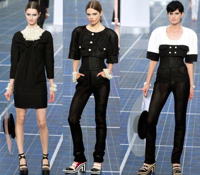 Chanel весна-лето 2013, коллекция Карла Лагерфельда