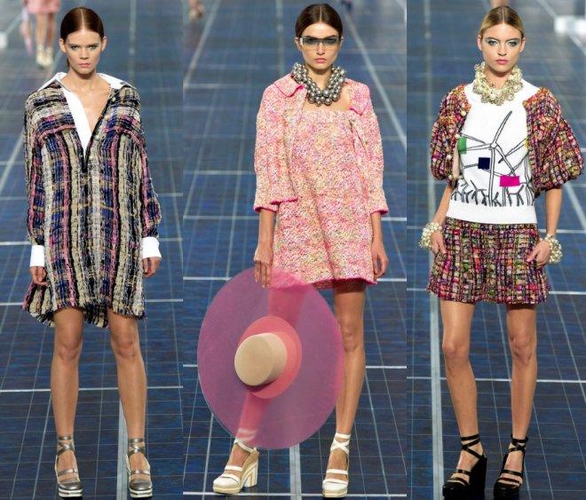 Коллекция женской одежды Шанель 2013