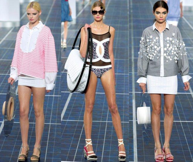 Парижская неделя моды Chanel весна-лето 2013