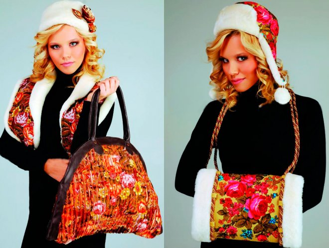 Шапка, сумка и муфта