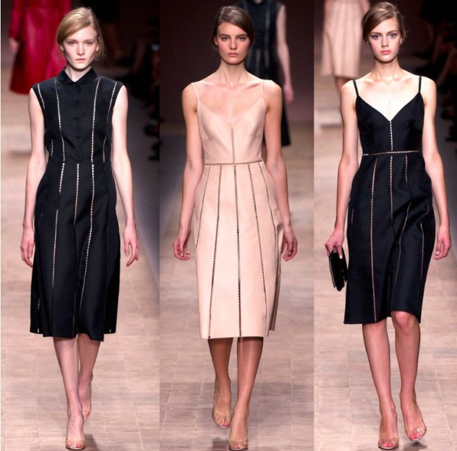 Valentino, коллекция женской одежды весна-лето 2013