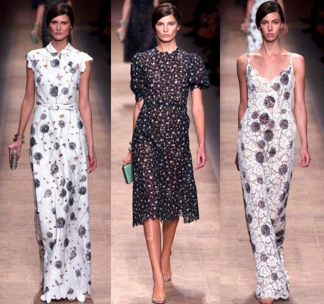 Платья от Валентино весна-лето 2013