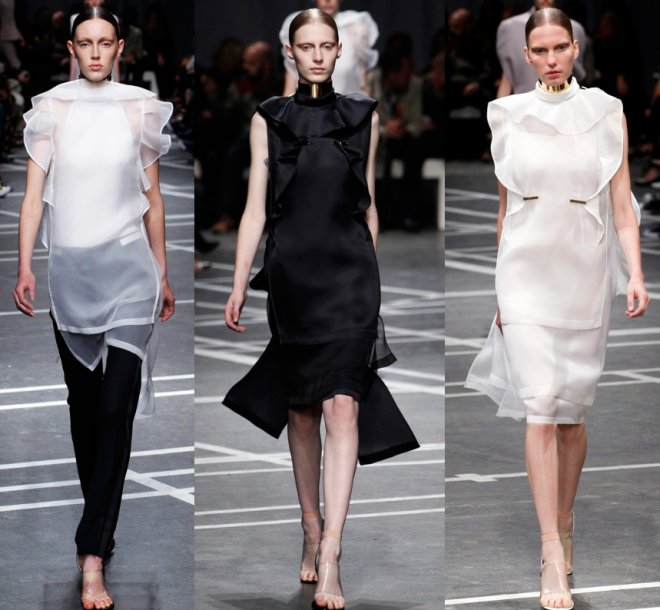 Коллекция Givenchy весна-лето 2013