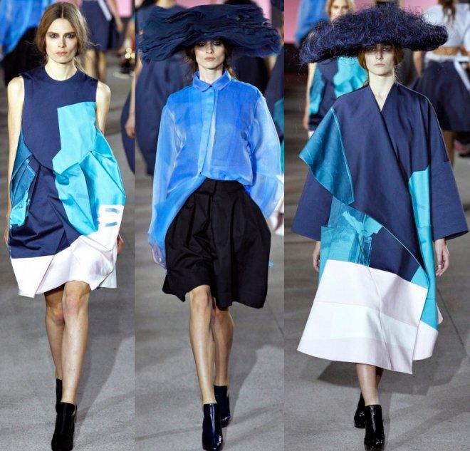 John Galliano, коллекция весна-лето 2013, дизайнер Билл Гейттен
