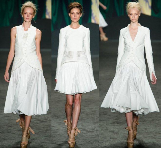 Коллекция платьев от Vera Wang весна-лето 2013