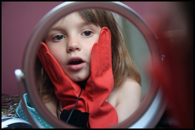 Парфюмерия и зеркало
