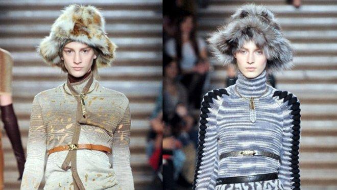 шапки осень 2012, зима 2013 Missoni