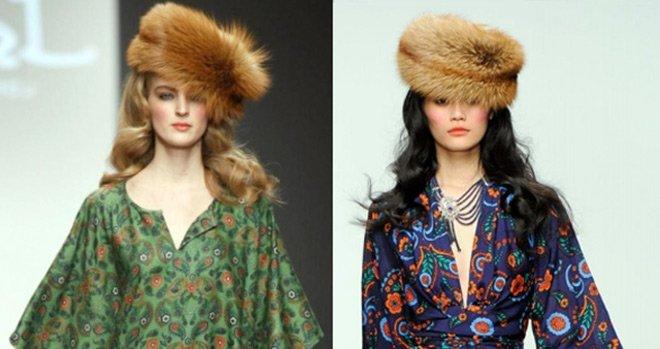 шапки осень 2012, зима 2013 Issa
