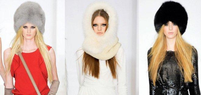 Rachel Zoe шапки осень-зима 2012-2013