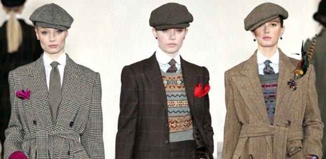 кепки Ralph Lauren осень-зима 2012-2013