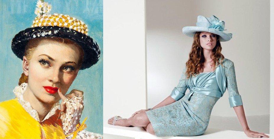 красивые женские шляпы фото
