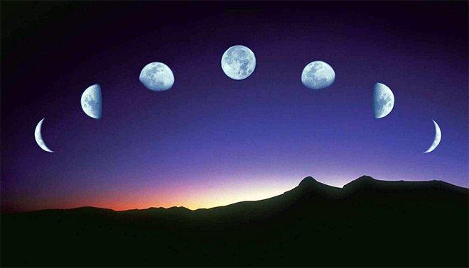 Луна влияет на приливы и отливы в океанах