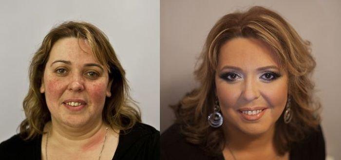 фото до преображения и после