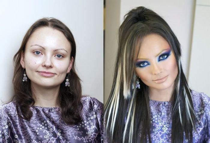 фото до и после преображения