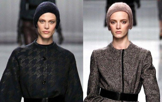 Модные вязаные шапочки Christian Dior