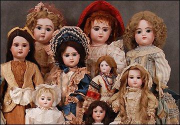 О жизни кукол прошлых эпох