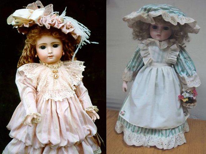История фарфоровой куклы