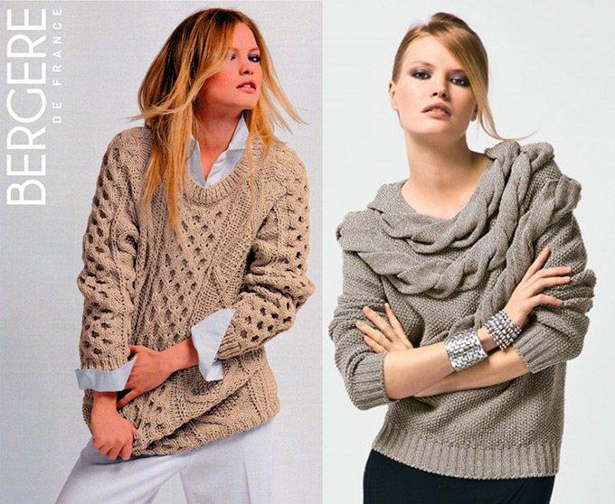 Bergere de France свитеры осень зима 2012-2013