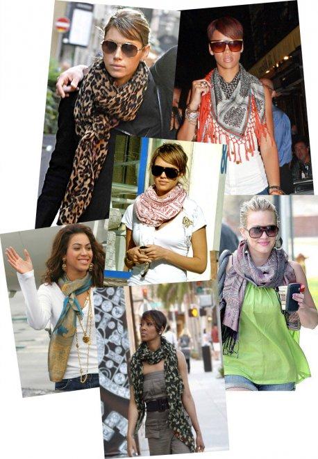 Как правильно выбрать шарф для девушки
