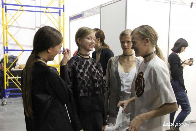 Litkovskaya backstage