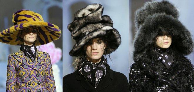 ультрамодные шапки Марка Джейкобса