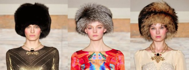 шапки-кубанки Temperley London