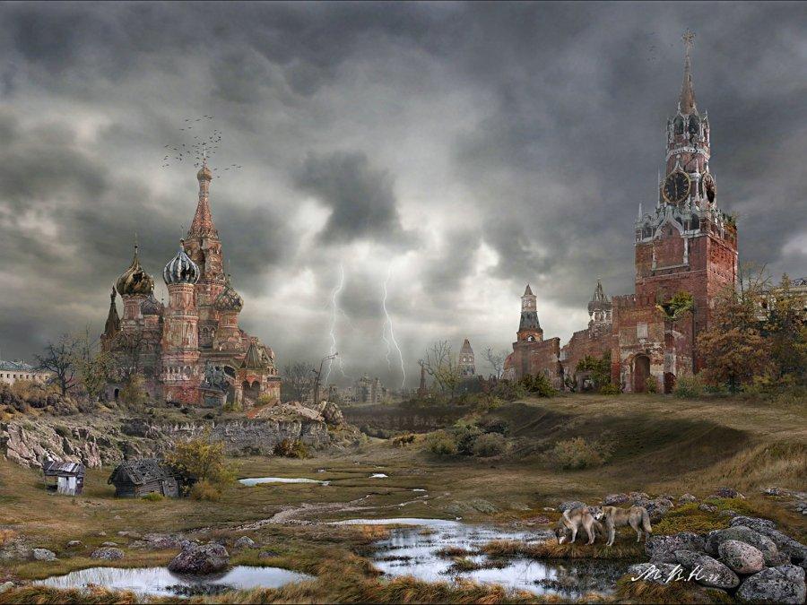 Московские пейзажи после конца света