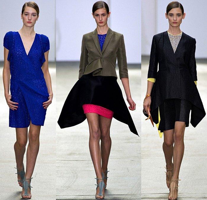 коллекция женской одежды Antonio Berardi, весна-лето 2013