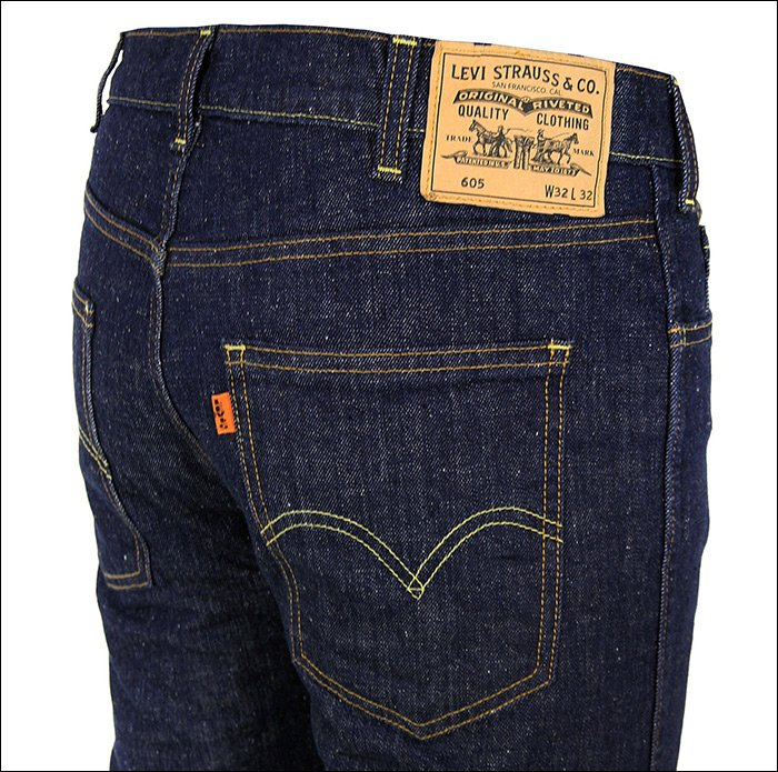 a history of the levis jeans