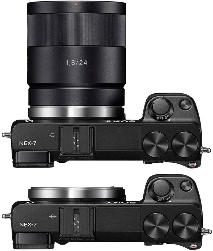 Как выбрать цифровой фотоаппарат для девушки Sony Alpha NEX-7