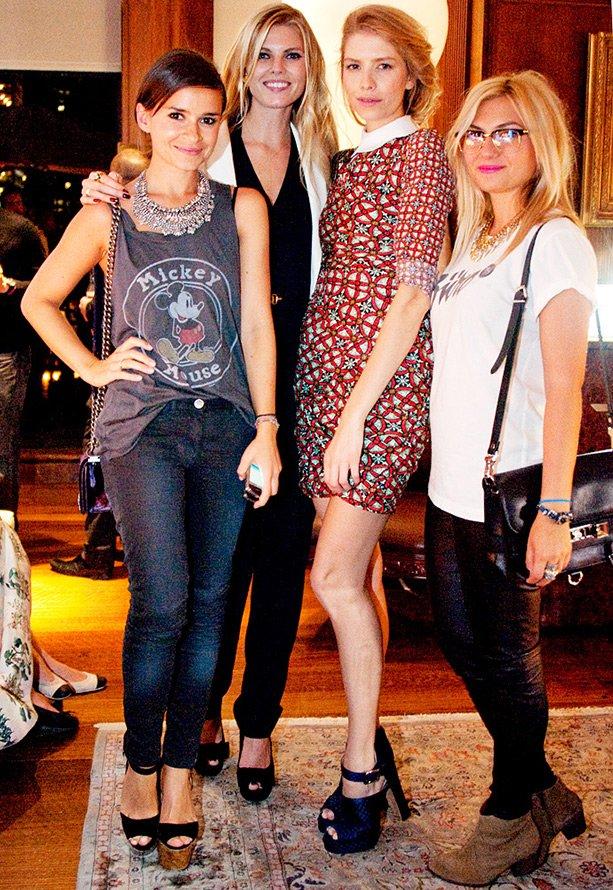 Марина Линчук с другими моделями, фото