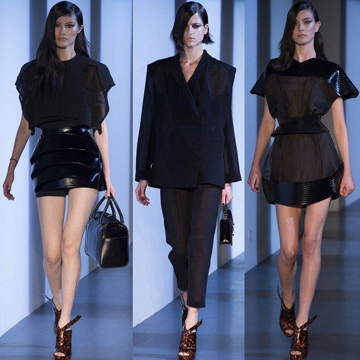 Коллекция женской одежды от Mugler, весна-лето 2013