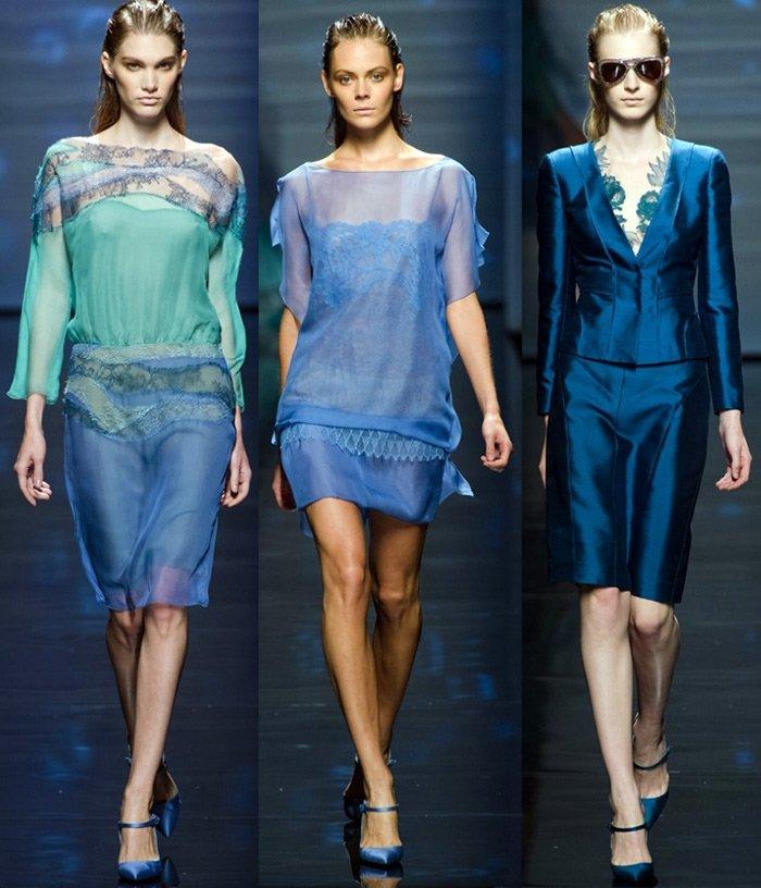Коллекция женской одежды от Alberta Ferretti